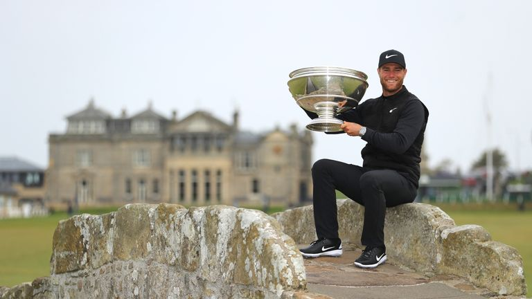 Lucas Bjerregaard moved into the top 10 with his win at St Andrews