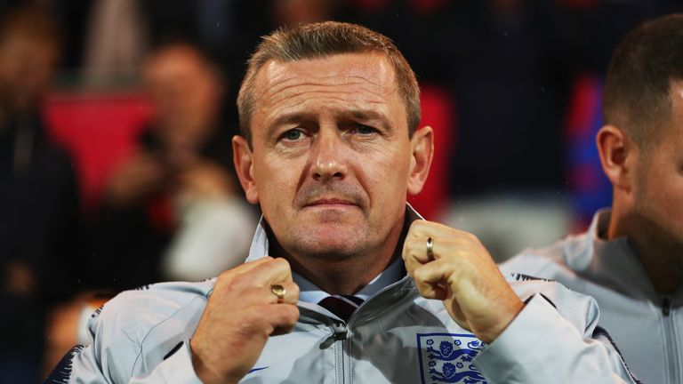 England U21 manager Boothroyd was in charge for the 7-0 thumping of Andorra