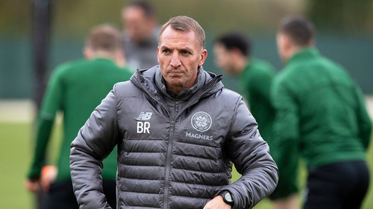 Brendan Rodgers revealed Leigh Griffiths remains on the sidelines