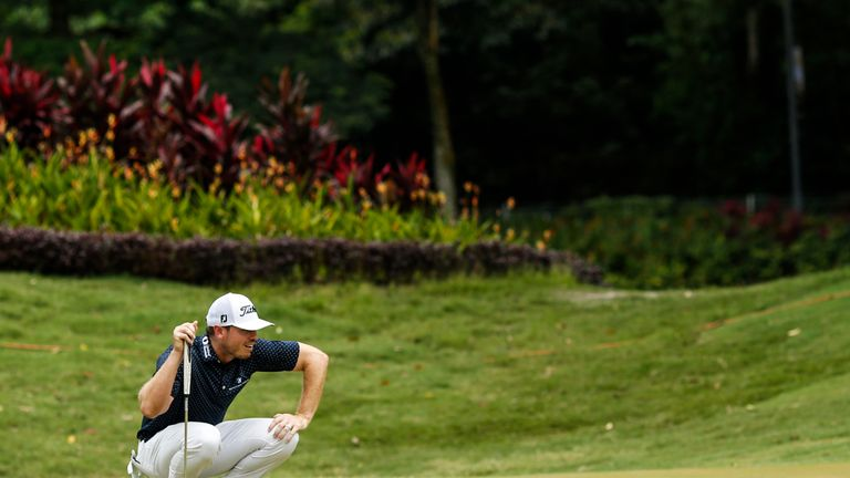 Bronson Burgoon is chasing a maiden PGA Tour title