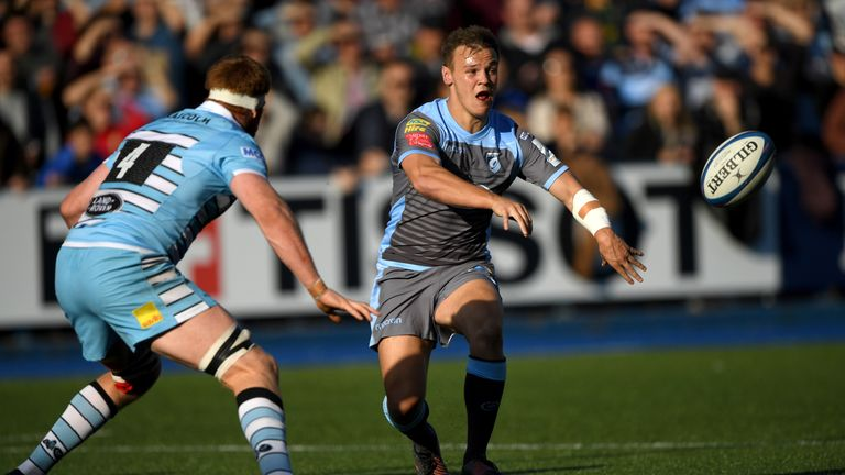 Jarrod Evans is one of three rookie players in Wales' squad