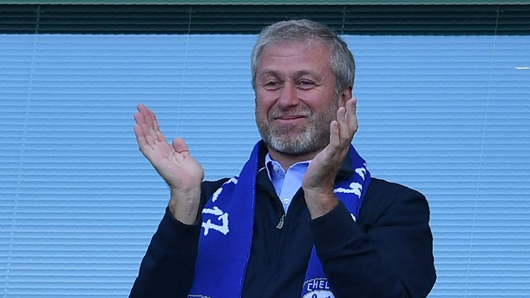 Abramovich rarely attends Chelsea matches due to visa issues