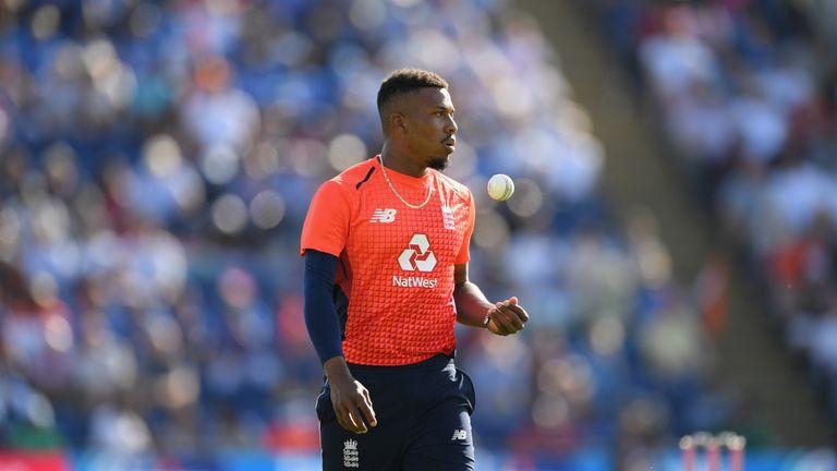 Chris Jordan has become a Twenty20 regular for England