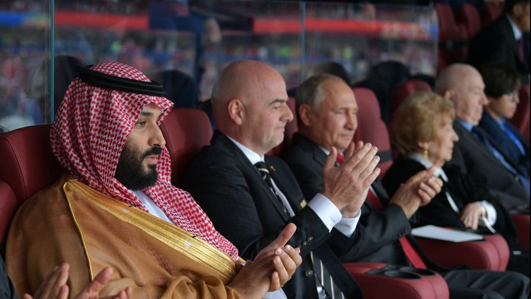 Saudi Arabia's Crown Prince Mohammad bin Salman is keen to invest in top-flight football