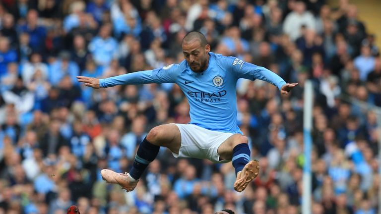 David Silva is in fine form for Man City