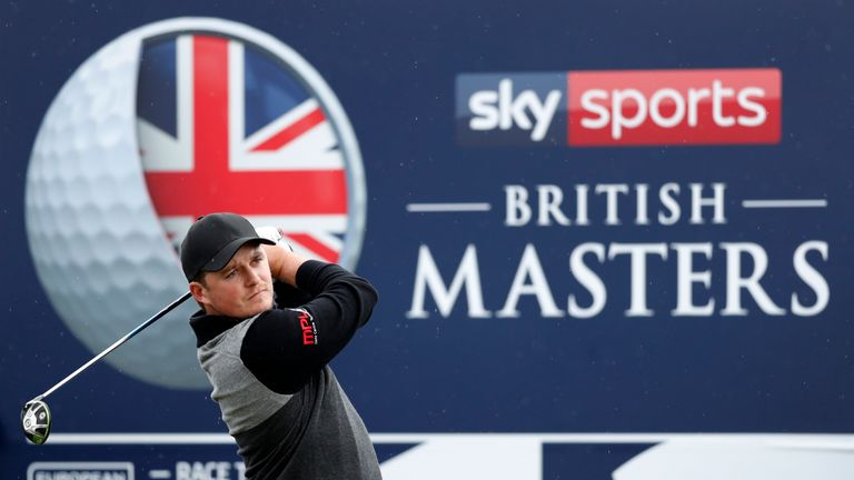 Eddie Pepperell picked up three shots in three holes over the front nine