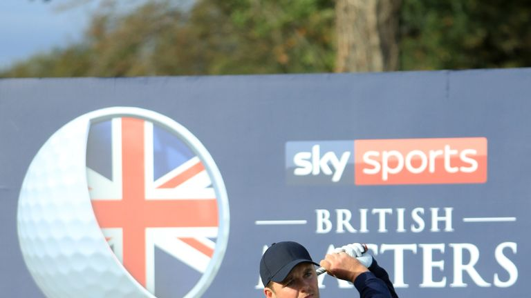 Eddie Pepperell set the clubhouse target at eight under
