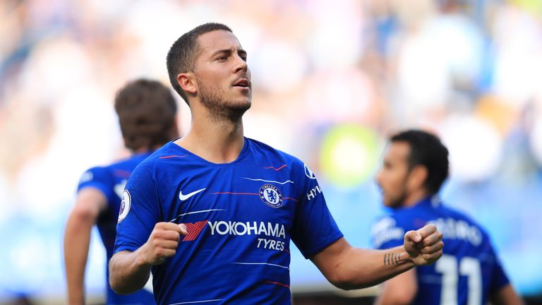 Hazard missed the wins over BATE Borisov and Burnley
