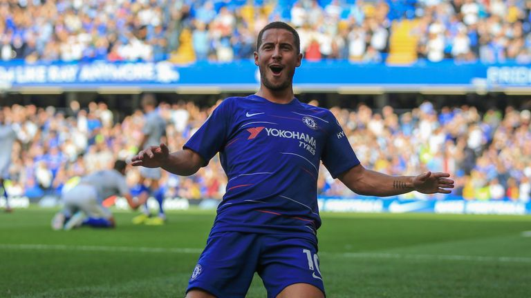 Eden Hazard could become Chelsea's highest-paid player in the club's history