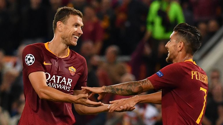 West Ham have been linked with a move for Roma striker Edin Dzeko