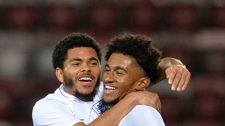 Reiss Nelson and Jay Dasilva have retained their places in the England U21 squad