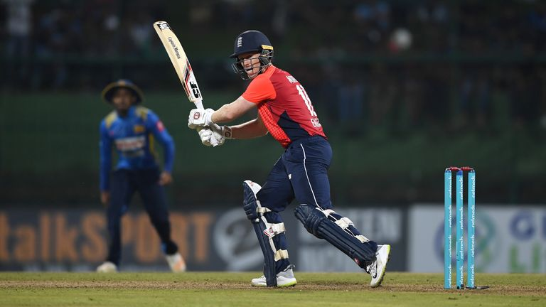 Eoin Morgan followed his 92 on Saturday with an unbeaten 58 on Wednesday