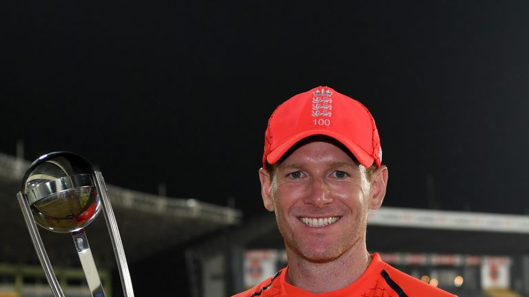 Eoin Morgan's England are ranked No 1 in the ICC ODI standings