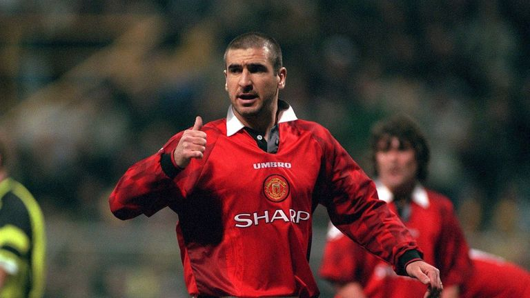 Cantona won four Premier League titles and two FA Cups at United