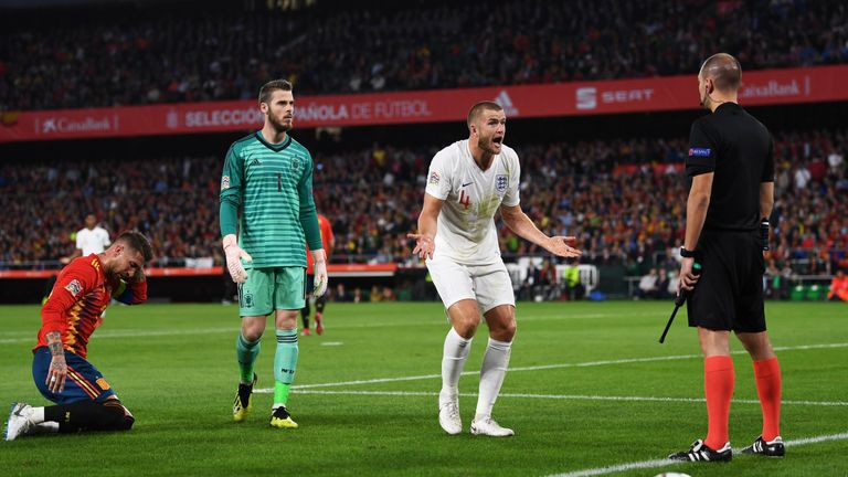 Eric Dier was praised by Sam Allardyce for his role in England's win in Spain