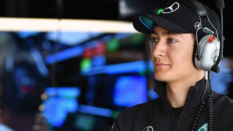 Mercedes junior Russell signs multi-year deal with Williams