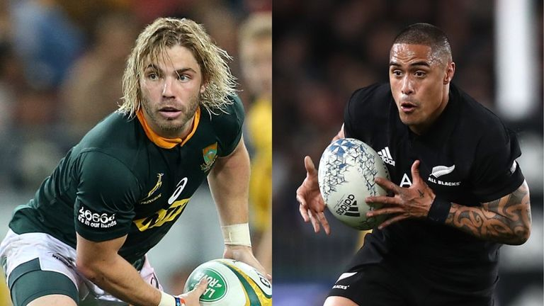 The battle between Faf de Klerk and Aaron Smith will be crucial on Saturday