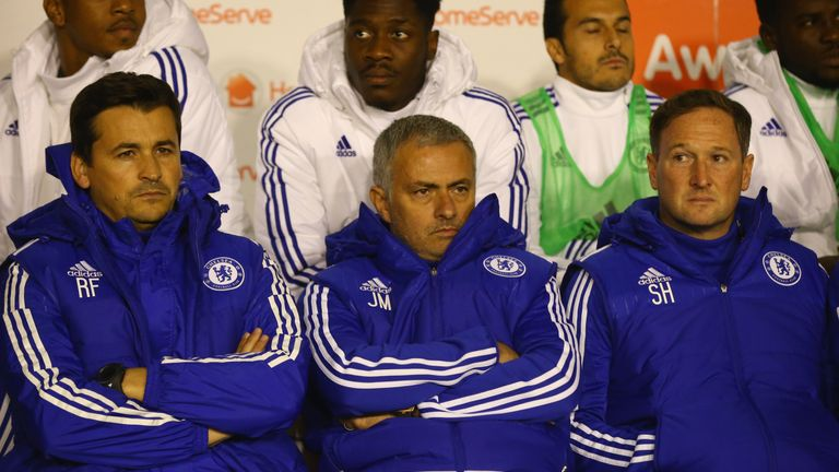 Faria would often be Mourinho's attack dog on the touchline during low moments