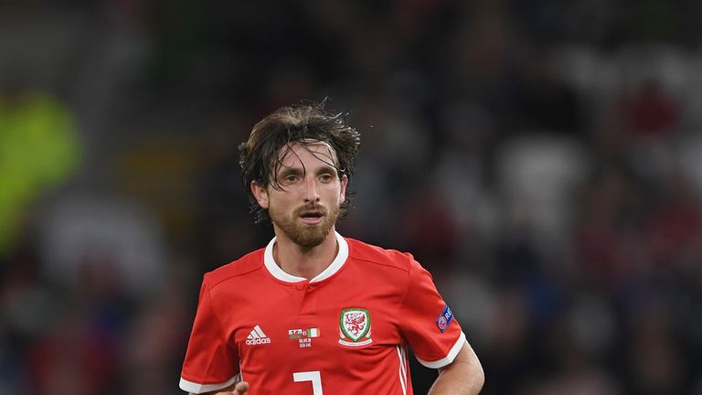 Joe Allen called Bale a talisman for Wales