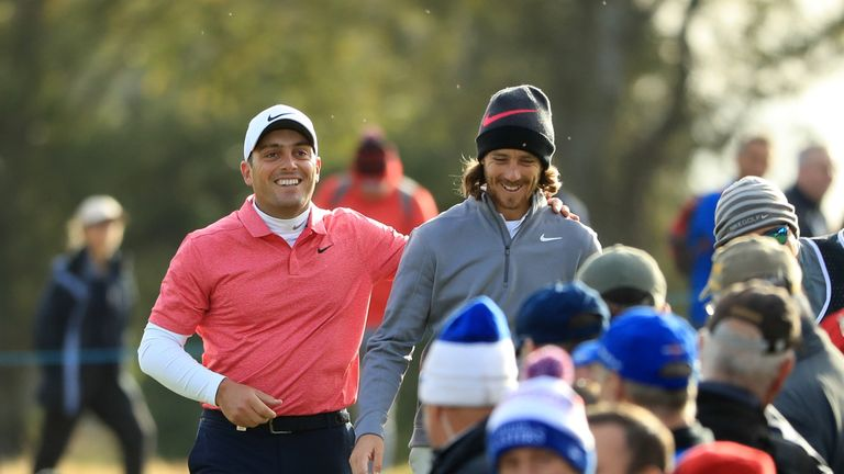 Molinari and Fleetwood are the only two players who can still win the Race to Dubai