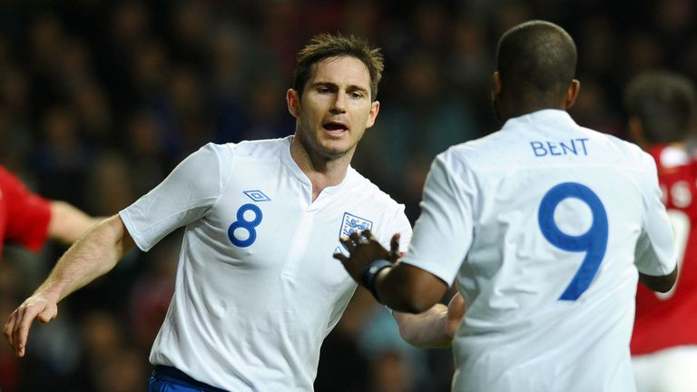 Darren Bent chooses between Frank Lampard and Steven Gerrard for his ultimate 5-a-side team