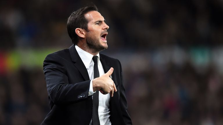 Frank Lampard's Derby sit two points behind sixth-placed Bristol City