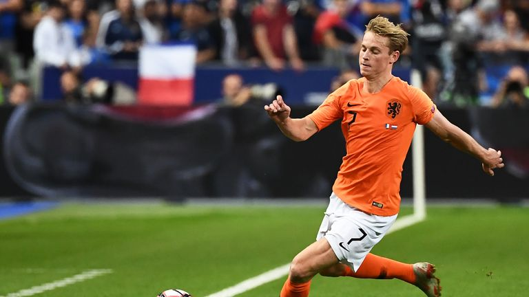 Frenkie de Jong has been the focus of interest from Premier League clubs