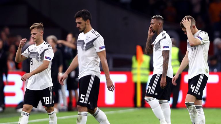Germany have now lost five of their last nine matches