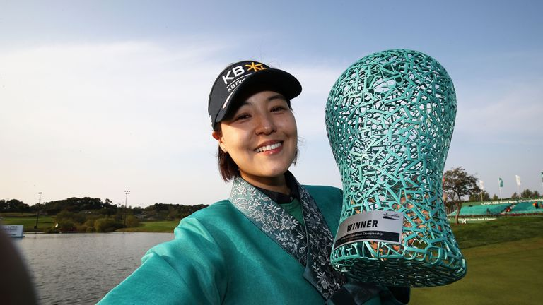 In Gee Chun celebrates her third LPGA Tour title
