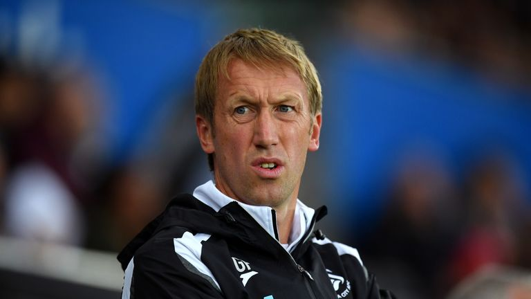 Swansea City boss Graham Potter