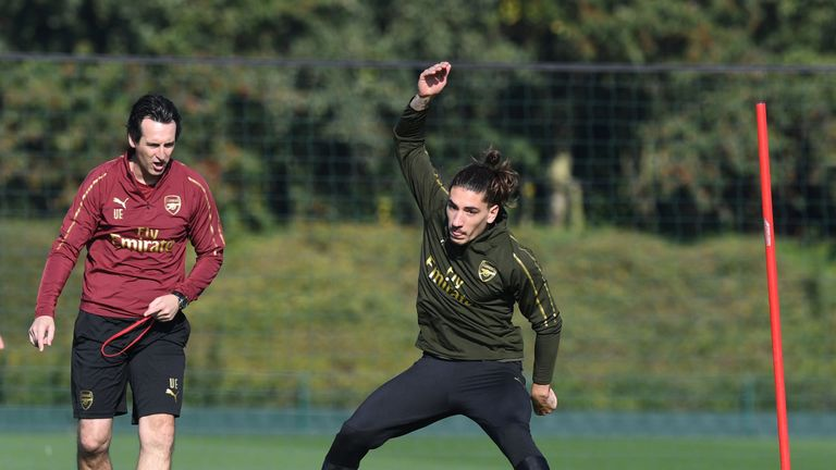 Hector Bellerin has benefited from Unai Emery's coaching this season