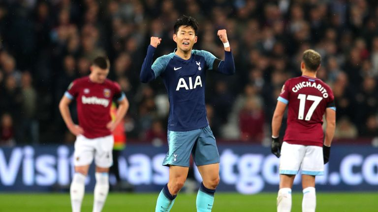 The South Korea forward return to the Tottenham XI after two games on the bench