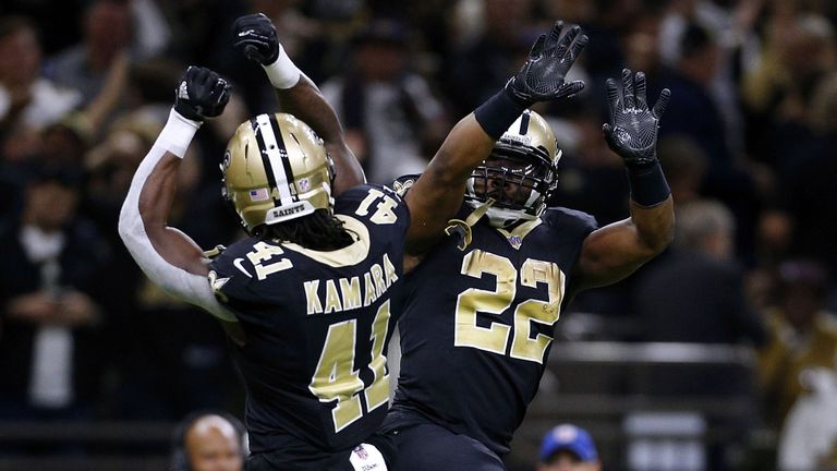 Kamara and Ingram are a tough duo for any defense to handle