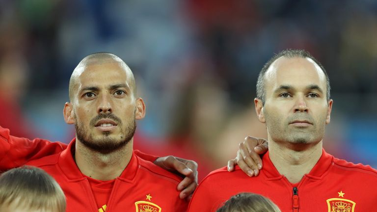 David Silva and Andres Iniesta both announced their retirement from international football after Spain's World Cup elimination
