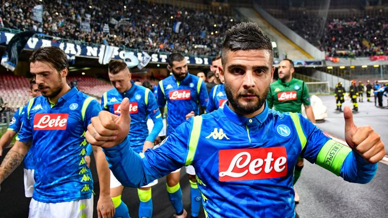 Lorenzo Insigne is reportedly on Liverpool's radar