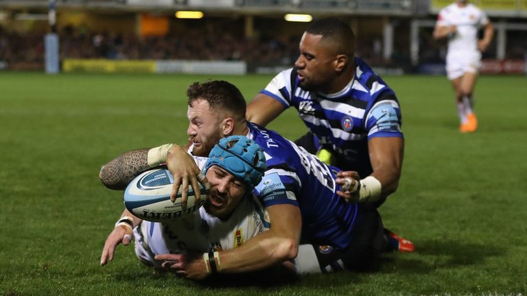 Exeter Chiefs remain unbeaten this season with six wins from six