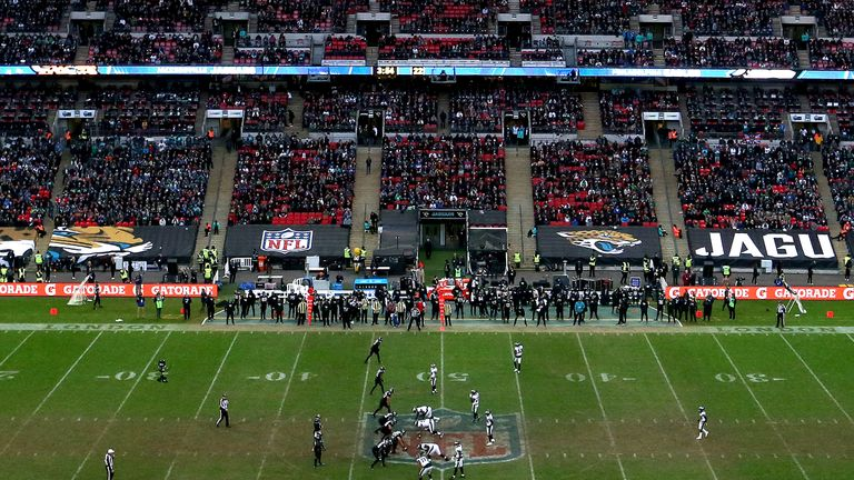 National Football League  to play four regular-season games in London next year