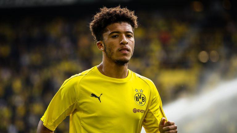 Jadon Sancho has impressed for Borussia Dortmund