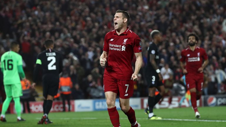 James Milner is set to make his 500th Premier League appearance