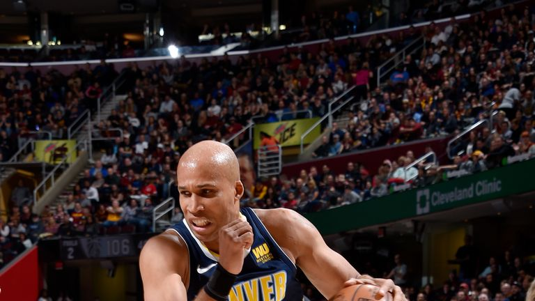 Richard Jefferson last played for the Denver Nuggets