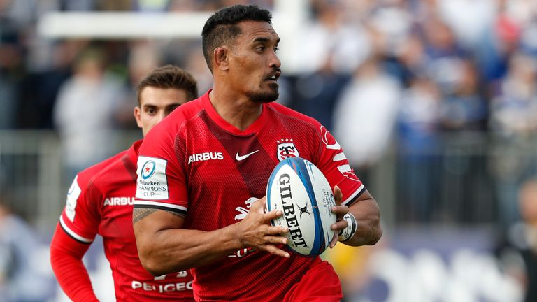 Jerome Kaino was yellow-carded for Toulouse