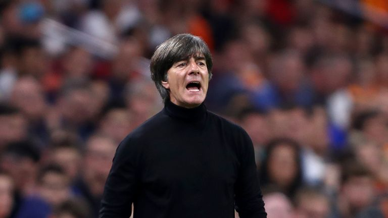 Joachim Low saw Germany beaten 3-0 by Netherlands