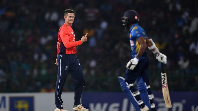 Joe Denly made a splash on his return to international cricket