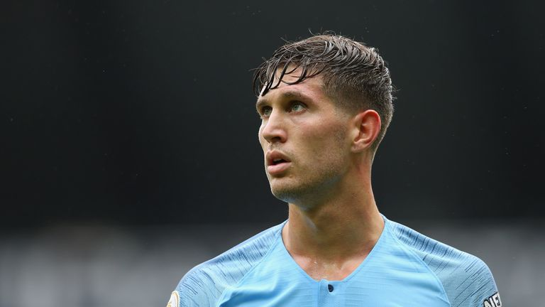 John Stones is out for Manchester City due to injury