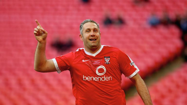 Jon Parkin is still playing for York City at 36