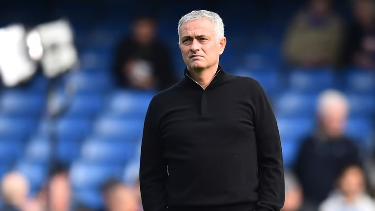 Manchester United boss Jose Mourinho returns to Stamford Bridge