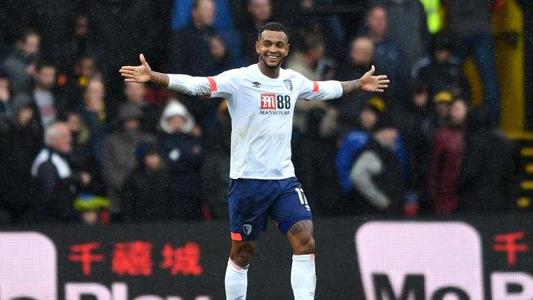 Josh King has scored four goals in eight Premier League games