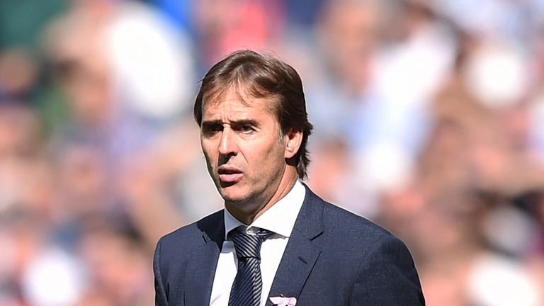 Julen Lopetegui Will Lead Real Madrid Against Barcelona Says