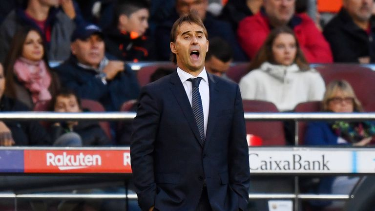 Julen Lopetegui believes his side have suffered from misfortune in recent weeks