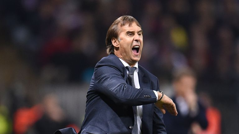 Julen Lopetegui has been sacked by Real Madrid